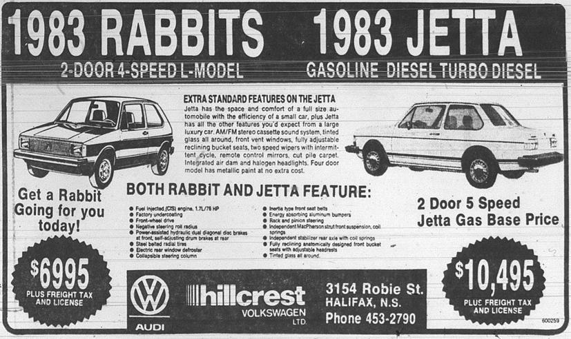retro sunday march 1983 halifax retales