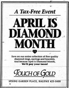 Retro Sunday: April 1987 25 years ago