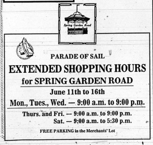 Some Ads from Tall Ships 84