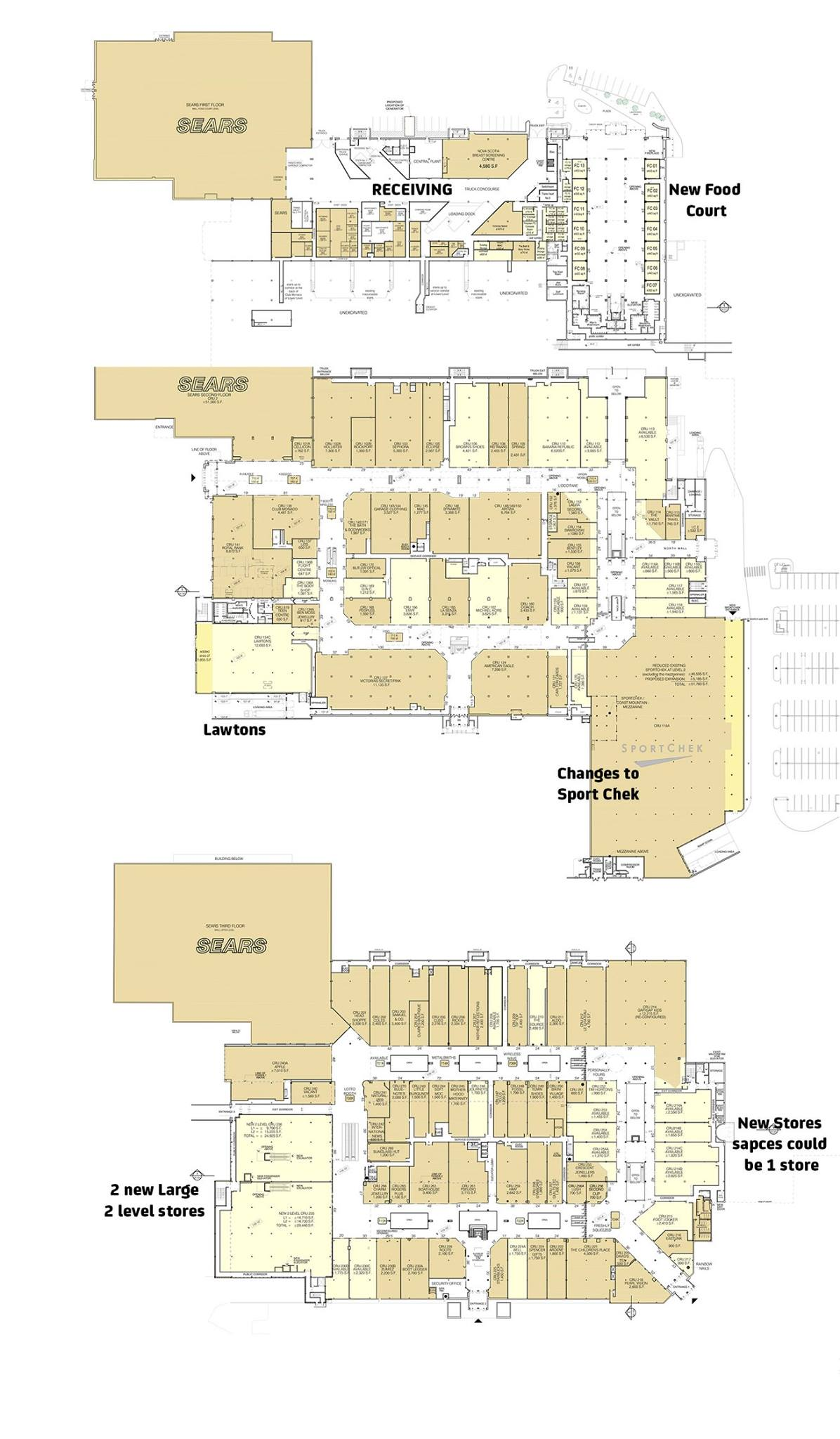 New Halifax Shopping Centre Layout, Growlers in the Dartmouth Burbs
