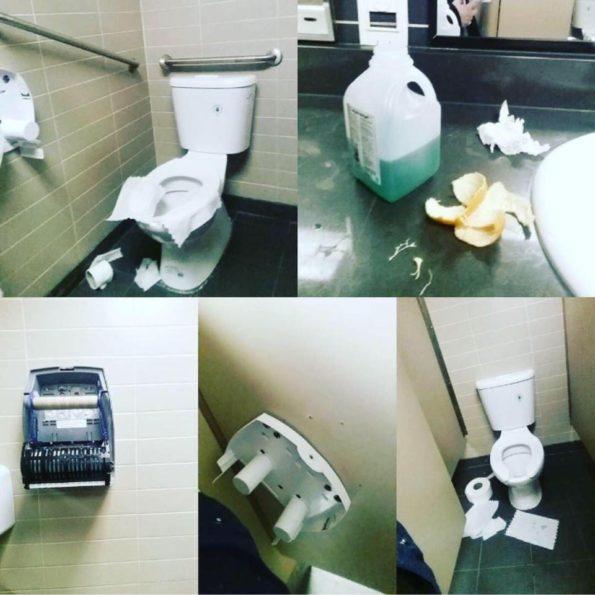 Superstore washrooms