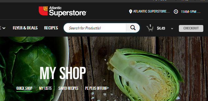 Online Grocery is Here at Superstore